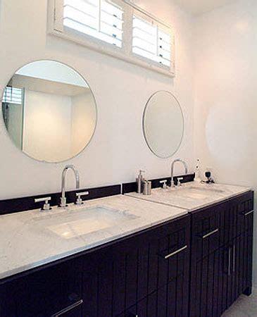 Round Bathroom Mirrors   Contemporary   bathroom   David