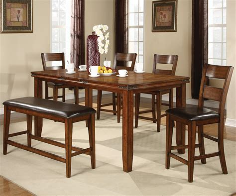 cm figaro  piece counter height table  chairs set