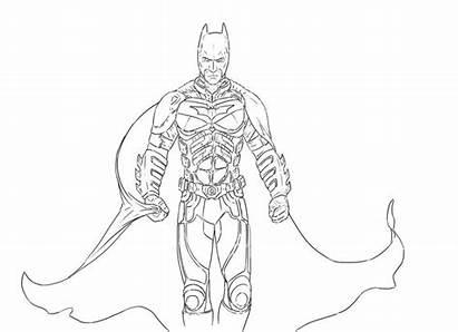 Coloring Batman Arkham Knight Dark Ausmalbilder Coloriage