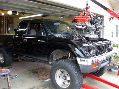 Toyota Tacoma With A 1uz V8