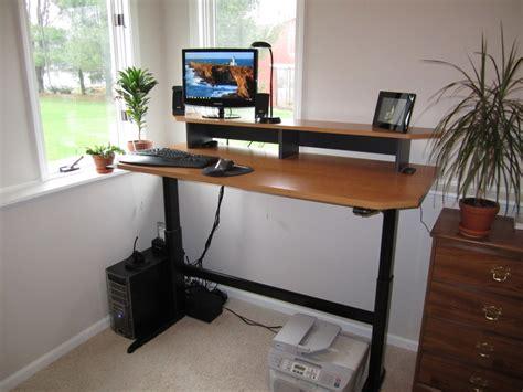 diy adjustable standing desk adjustable standing desks decofurnish