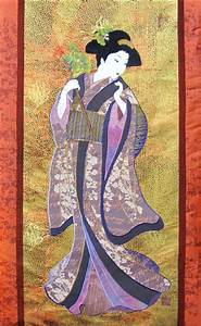The gallery for --> Traditional Geisha Painting