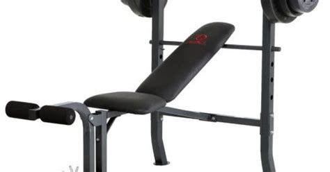 Image For Marcy Weight Bench Set From Academy