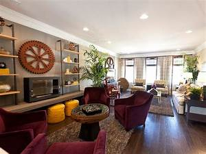 Living Room and Dining Room Decorating Ideas and Design