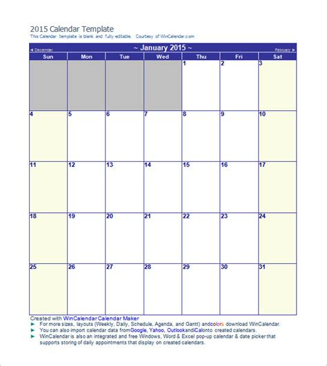 12 month calendar template calendar template 41 free printable word excel pdf psd indesign eps drive format