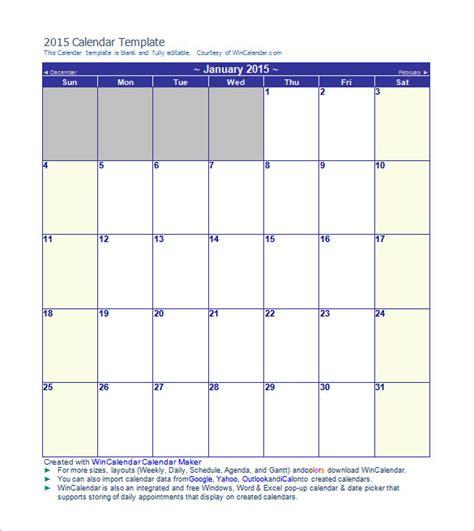calendar template printable word excel psd indesign