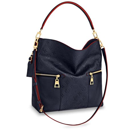 melie designer monogram leather handbag louis vuitton