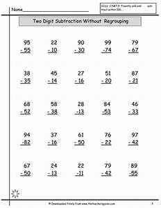 Subtraction Worksheets | New Calendar Template Site
