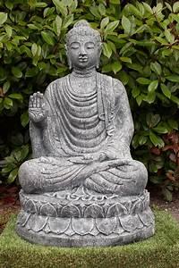 Statue Bouddha Maison Du Monde : statue bouddha abhaya mudra 100 cm ~ Teatrodelosmanantiales.com Idées de Décoration