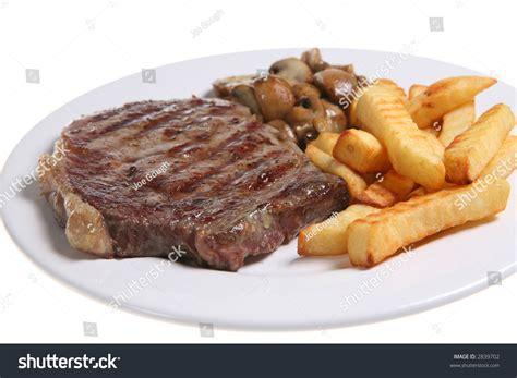 rida la cuisine sirloin steak with fries sirloin steak with crinkle cut fries and sauteed mushrooms