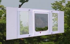 Ideal hefty pet window insert for Dog door window insert