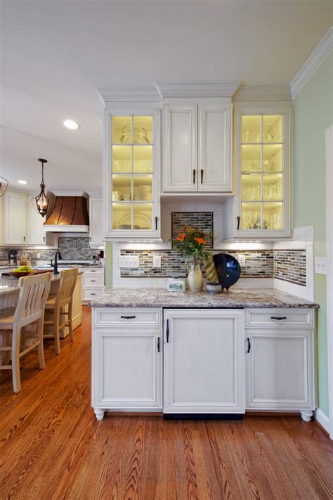 Kitchen Cabinets With Glass - photo page hgtv