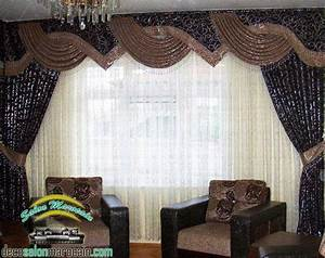 Decoration Pour Rideau : cache rideaux decoration marocaine ~ Melissatoandfro.com Idées de Décoration