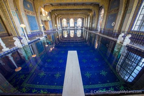 building site plan hearst castle great rooms tour photos from california 39 s
