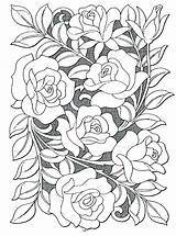 Rose Garden Coloring Pages Generous Printable Getcolorings Landscape sketch template