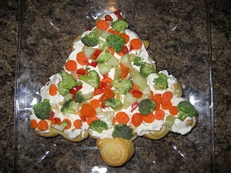 christmas tree appetizer pillsbury food crafts and more crescent tree