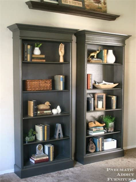 Home Furniture Bookshelves by How To Upgrade Bookshelves Home Inspiration Pottery
