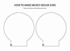 template for minnie mouse ears - free download for mickey mouse ears template minnie