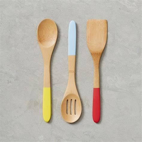 Bamboo Kitchen Utensils  Contemporary  Cooking Utensils