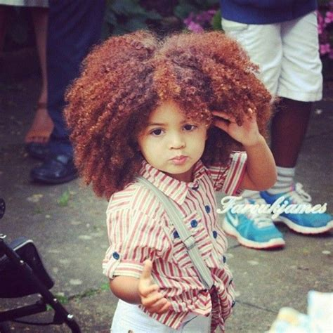 Natural Hairstyles For Kids  The Style News Network