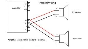 Subwoofer Series Parallel Wiring Diagram by Subwoofer Wiring Diagrams For Car Audio Bass