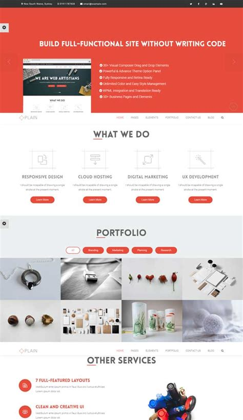 free bootstrap website templates 30 bootstrap website templates free