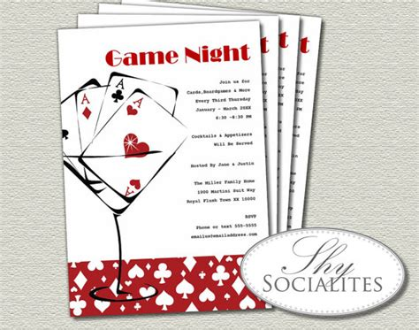 Red Martini Cards Game Night Invitation Poker Night Games Short Business Report Sample Shopping Spree Certificate Template Sharepoint 2013 Project Management Should I Counter A Job Offer Set Up Web Site Term Career Objective Timer For Five Minutes You Have An On Your Resumes