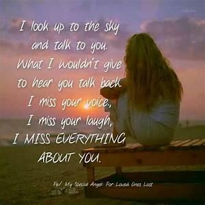 I miss you ♥ Mama Papa Aunt Nana Aunt Carol Uncle Nick ...