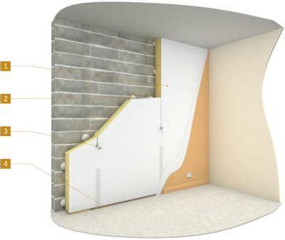 plaque isolation mur interieur isolation des murs par l int 233 rieur avec un doublage coll 233