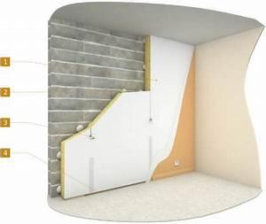 Isolation Mur Interieur Mince : isolation des murs par l 39 int rieur avec un doublage coll ~ Dailycaller-alerts.com Idées de Décoration