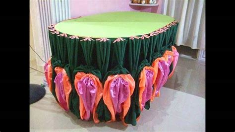 table cloth skirting design table skirting by jan michael espinosa youtube
