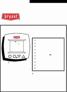 Bryant Thermostat Tstatbbpb501 User Guide