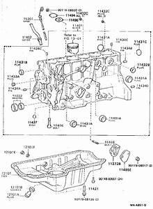 Toyota Cressida Engine Oil Drain Plug Gasket  Block