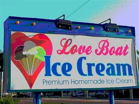 Love Boat Ice Cream Fort Myers by Signage Picture Of Love Boat Homemade Ice Cream Fort