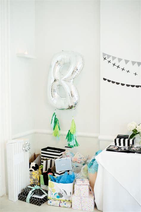 modern baby shower centerpieces a graphic black white modern baby shower the sweetest occasion bloglovin