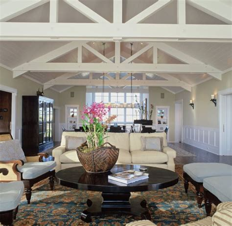 living rooms  beams   inspire