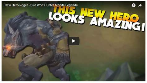 Dire Wolf Hunter Mobile Legends