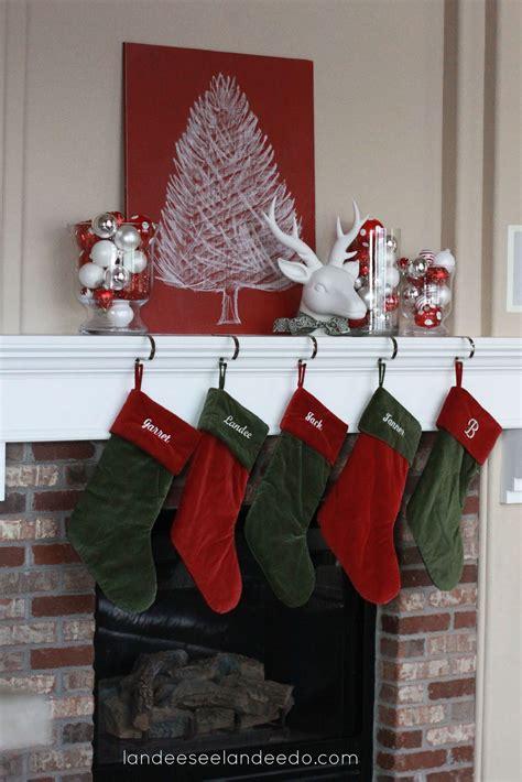 christmas mantel decor landeelu com