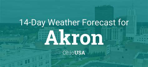 akron ohio usa  day weather forecast