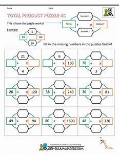 Multiplication Magic Squares Worksheets - multiplying ...