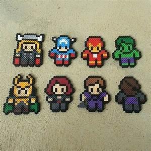 20 Best Super Hero Pixel Art Templates Images On Pinterest