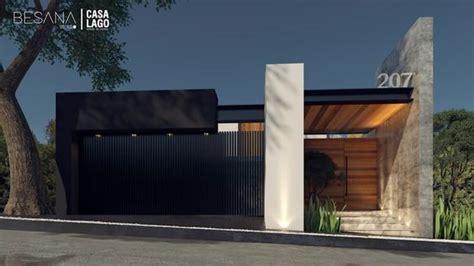 fachadas de bardas modernas  revestimiento