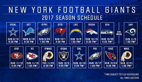 HD wallpapers new york giants tv schedule
