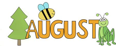 August Nature Clip Art - August Nature Image   August ...