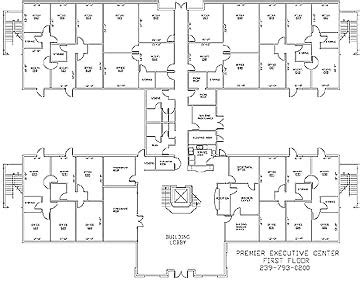 executive office suite floor plan executive offices naples building floorplans premier Executive Office Suite Floor Plan