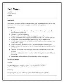 ccna resume with no experience resume format for ccna