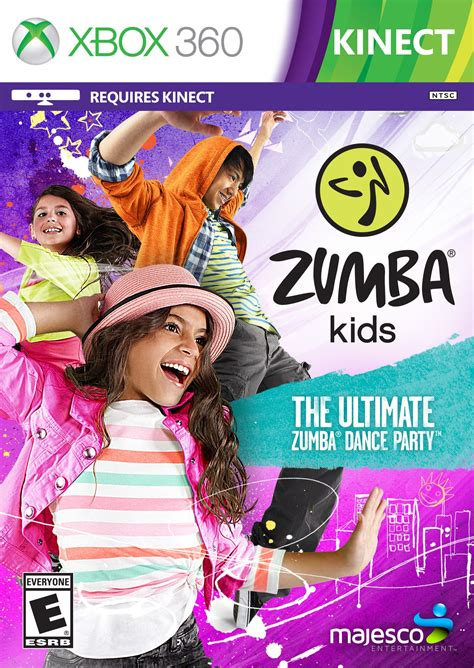 xbox 360 zumba games xbox360 game fitness wii na release covers exercise nintendo walk kinect player amazon date majesco moving