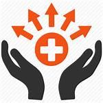 Icon Distribution Health Medical Source Care Medicine