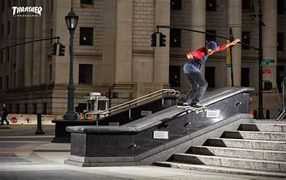 Thrasher Skateboarding Magazine Wallpapers Skateboard Skate August