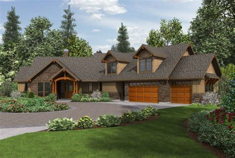 craftsman style ranch house plans craftsman ranch house plans with walkout basement